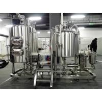 Best High Performance Beer Making Machine For Home 500L Volume CE / ISO Approval wholesale