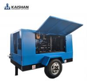 Cheap 2017 Hot sales! Kaishan air compressor/Portable diesel screw air compressor/Energy efficient/ High quality air compresso for sale
