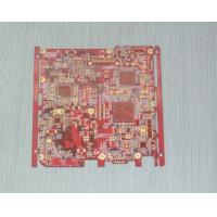 Best Red 1 - 16 Layer customized 0.2 - 3.2mm HAL Lead - free  Prototype Quick Turn PCB wholesale
