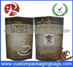Best Ziplock Bar Iron Coffee Bag , Aluminium Foil composite Pouches wholesale