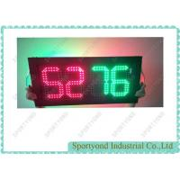 China Electronic Digital Player Substitution Board For Basketball Back To Back Display on sale