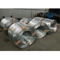 Best Q195 Hot Dipped Galvanized Wire For Fence / Mesh , Bright Silver wholesale