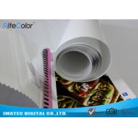 Best Eco Solvent PP Synthetic Paper , Adhesive Matte Polypropylene Film Rolls wholesale