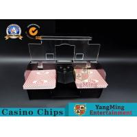 Best Casino Exclusive Deluxe Automatic 2 Deck Playing Card Shuffler Double Deluxe wholesale