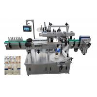 Cheap 3PH Automatic Labeling Machine , 6000BPH Round Bottle Labeling Equipment for sale