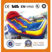 China 2014 commercial grade inflatable  water slide direct sale from manufacture FL Toys on sale