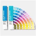 Best Solid Coated / Uncoated Paper Paint Color Cards 2019 Pantone GP6102A Color Bridge Guide Set wholesale