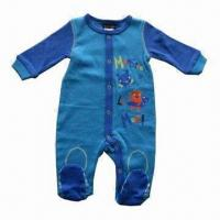 Best Baby Romper, Made of 100% Cotton Interlock, Available Various Style/Size, Customized Packing Welcome wholesale