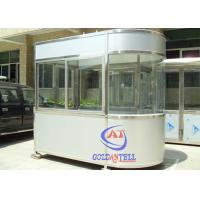 Best Easy Assembly Security Portable Sentry Box For Parking System , Color Steel wholesale
