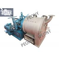 Best Two-Stage Horizontal Automatic Discharge Centrifuge For Salt Dewatering / Processing wholesale