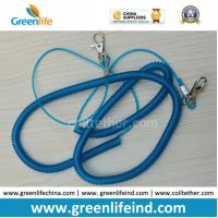 Best 1m Elastic Spiral Plastic Coil Cord Belt for Fishing Using wholesale