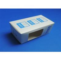 Best PVC Window Custom Packaging Boxes Full color / Single Color Gloss Lamination wholesale