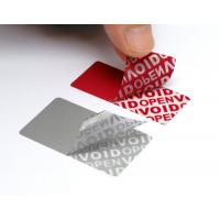 Variable Data Printing Tamper Proof Security Labels Hi - Tech Nanometer Technology