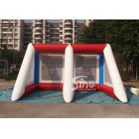 Best Kids N adults challenge inflatable penalty football goal shoot over game for outdoor event wholesale