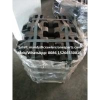 Buy cheap DEMAG CC2500 Track Pad for Crawler Crane Undercarriage Parts from wholesalers