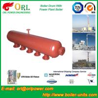 Best High Temperature Steam Drum In Boiler , Blowdown Drum Low Pressure wholesale