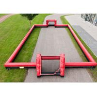 Best Outdoor Interactive Inflatable Sports Toys 0.55mm PVC Football Arena Playground wholesale