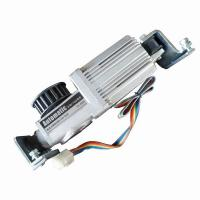 Best Square Brushless DC Motors Automatic Sliding Door Motor 24V 3200RPM Worm Gear Box wholesale