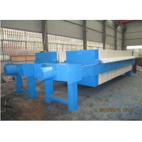 Best Hydraulic plate and frame Filter Press in DAF pretreatment for seawater RO plant, 2000L 1250 Mm Plate Size wholesale