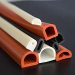 Best Good elastic silicone rubber tube/flame retardant rubber pipe/masking rubber tube wholesale