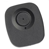China High quality plastic alarming tag EAS RF black security tag for supermarket anti-shoplifting on sale