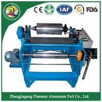 China china modern antique stable aluminum foil roll rewinding cutting machine on sale