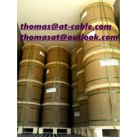 Best 3666m wooden drum with pallet semi-finished CCS RG6-U Coaxial Cable Without PVC Jacket wholesale