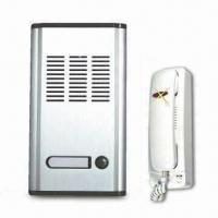 Best Audio Door Phone Intercom System for Residential Use, with 198 x 108 x 38mm Panel Size wholesale