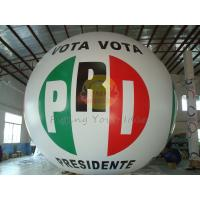 Cheap Reusable Fireproof Inflatable Political Advertising Balloon with Total Digital for sale