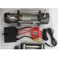 Best Remote Control Wireless Heavy Duty Electric Winch 4X4 Off road 9500LBS For Truck / SUV wholesale