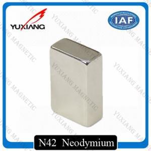 Best Coating Nickel N45 Neodymium Magnets Rectangular 20x10x40mm Rare Earth Magnet wholesale