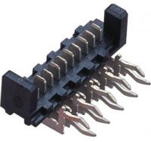 Best 1.27mm  90°  WCON Connector  Picoflex Header Plate alignment Phosphor Bronze wholesale