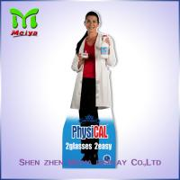 Best 4 C Offset Printing Paper Material Cardboard Advertising standee for medicine wholesale