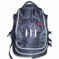 Best Laptop Backpack with Front Zipper Pocket, Adjustable Straps, Made of Nylon and PVC wholesale
