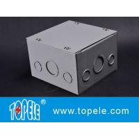 Best Steel Square Junction Box , Electrical Boxes And Covers Cable Switch Enclosures wholesale