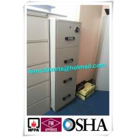 Best 4 Drawer Fire Safe File Cabinet , Fire Resistant File Cabinet  For Office Data wholesale