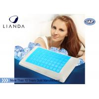 Best Summer Fashion Memory Foam pillow gel cool Neck Care Massage wholesale