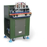 Green Full Automatic Wire Cutting Stripping Machine for 3 Core Power Cable