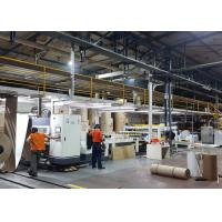 Best Automatic 2 Ply Corrugated Cardboard Machine Production Line 1 Year Warranty wholesale
