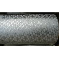 Best Alloy Steel Embossing Roller For Paper , Tissue , Foil And Leather With Different Pattern wholesale
