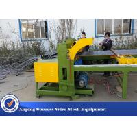 Best Easy Operation Wire Fencing Machine , Chicken Mesh Making Machine 30 Times / Min wholesale