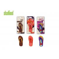 Best Christmas Slipper Deco Hanging Car Air Fresheners / Good Air Freshener For Room wholesale