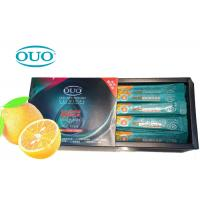 China Hotel Travel Alcohol Free Liquid Oral Care Mouthwash Orange Flavour Small Size on sale