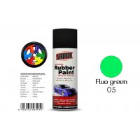 Best Fluo Green Color Liquid Rubber Spray For Protecting Various Surfaces  wholesale