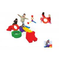 China PVC Coated Indoor Playground Equipment For Children Stackable on sale