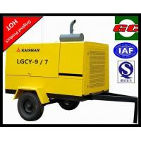 Energy saving portable screw type air compressor mobile low fuel consumption LGCY-9/7