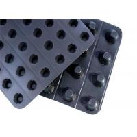 Best Plastic Dimpled Geocomposite Drain Foundation Wall Drainage Board For Water Percolation wholesale