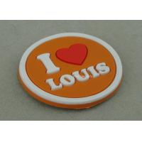 Best Multi Color Customized Plastic Coaster , Soft PVC Promotional Luggage Tag wholesale