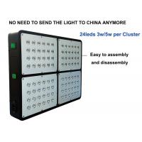 China 96leds 3w 300w Led Growing Lights For Cannabis , Dual Core Led Weed Grow Lights on sale