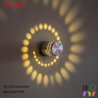 Best D55x75mm 6W indoor modern LED wall light/LED decoration light  for corridor and for showroom wholesale